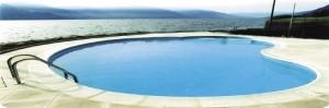 Foto piscina a forma libera