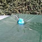 Pompa svuotamento teli invernali