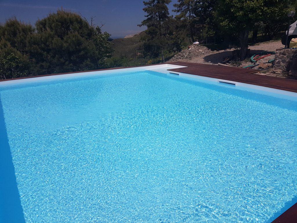Rivestimento piscina in PVC