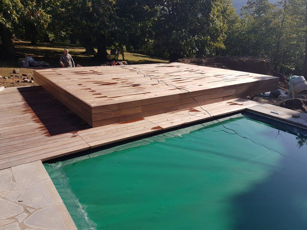 Vano copertura di sicurezza per piscina