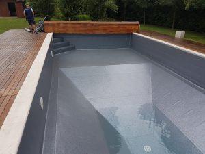 Spazio per giocare in piscina