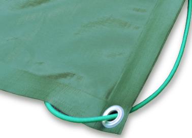 Copertura per piscina con elastico
