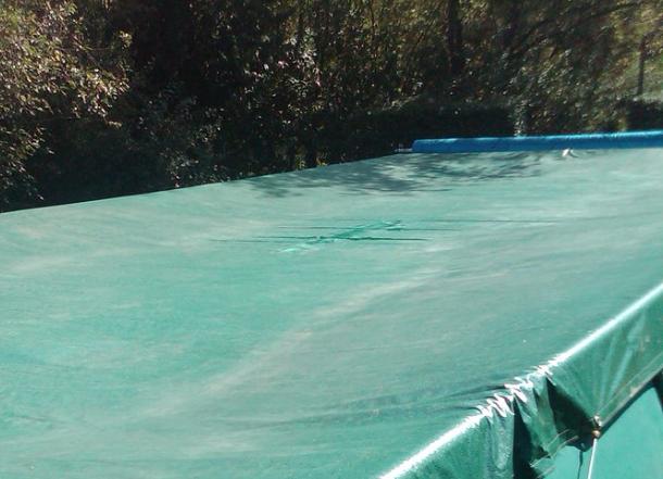 telo per piscina fuori terra